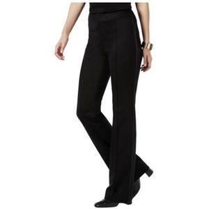 Pants - INC International Concepts Faux-Leather-Trim Pants